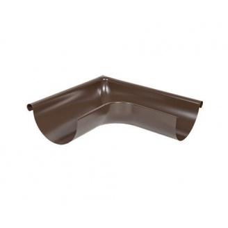 Угол желоба наружный АКВАСИСТЕМ стальной 135 градусов 125 мм
