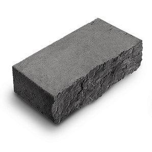 Фасадный камень стандартный Авеню Декор Рустик 250х100х65 мм серый