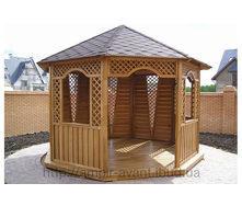 Строительство деревянной беседки
