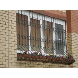 Кованая решетка оконная декоративная