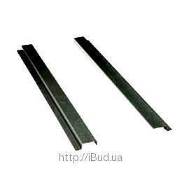 Крепежная планка VILPE PIIPPU 1180х28х100 мм черная