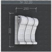 Кронштейн из пенопласта Анкор 300х250 мм (3220)