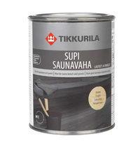 Защитный состав Tikkurila Supi saunavaha 0,3 л термообработанная древесина