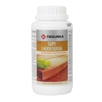 Парафінове масло для захисту полку Tikkurila Supi laudesuoja 250 мл безбарвне