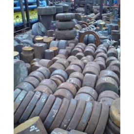 Поковка сталева ст.45 190х620 мм