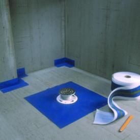 Mapeband (Мапей-Италия) гидроизоляцинная демпферная лента для примыканий, швов на террасах, санузлах и бассейнах