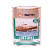 Уретан-алкідний лак Tikkurila Unica Super ph 9 л напівматовий