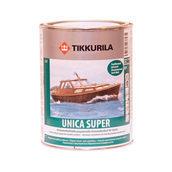 Уретано-алкидный лак Tikkurila Unica Super ph 9 л полуматовый
