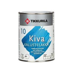 Акрилатный лак для мебели Tikkurila Kiva kalustelakka himmea 0,225 л матовый