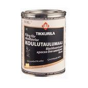 Краска для школьных досок Tikkurila Koulutaulumaali 1 л черная