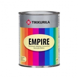 Тиксотропная алкидная краска Tikkurila Empire kalustemaali 9 л полуматовая