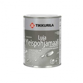 Акрилатная грунтовка Tikkurila Luja yleispohjamaali 2,7 л глубоко матовая