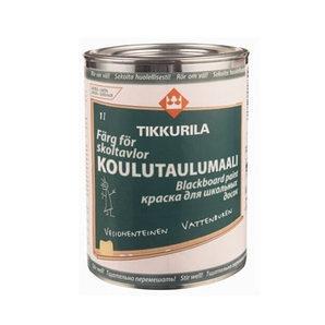 Краска для школьных досок Tikkurila Koulutaulumaali 1 л зеленая