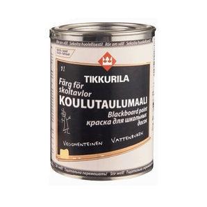 Фарба для шкільних дощок Tikkurila Koulutaulumaali 1 л чорна