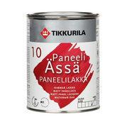 Акрилатный лак Tikkurila Paneeliassa paneelilakka himmea 0,9 л матовый