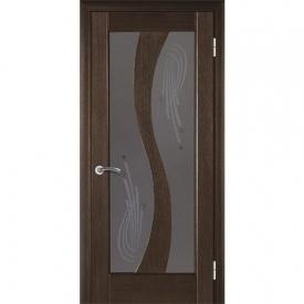 Межкомнатная дверь TERMINUS Modern Модель 15 остекленная венге