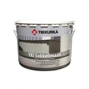 Щелочестойкая акрилатная краска Tikkurila Yki sokkelimaali 0,9 л глубоко матовая