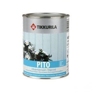 Акрилатна грунтовка Tikkurila Pito ulkopohjamaali 0,9 л біла