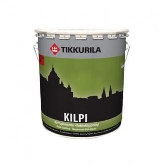 Водорозчинне акрилатне покриття Tikkurila Kilpi kattopinnoite 9 л глибоко матове