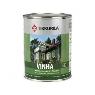 Защитно-декоративный антисептик Tikkurila Vinha peittava puunsuoja 0,9 л полуматовый