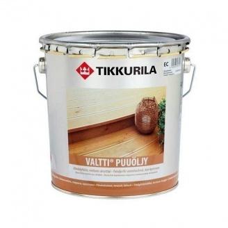 Органорозріджувальне масло Tikkurila Valtti puuoljy 9 л безбарвне