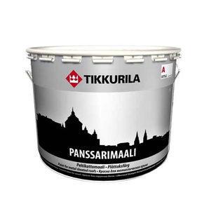 Алкидная краска Tikkurila Panssarimaali 9 л полуглянцевая