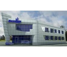 Вентилируемый фасад из композита Ecobond