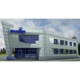 Вентильований фасад з композиту Ecobond