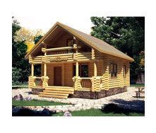 Строительство дома из оцилиндрованного бруса