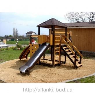Изготовление детской площадки Солнышко