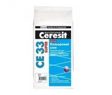 Затирка для швов Ceresit CE 33 Super 2 кг бирюзовая