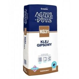 Гіпсовий клей Sniezka Acryl-putz KG 31 20 кг кремовий