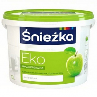 Акриловая эмульсия Sniezka Eko 14 кг снежно-белая
