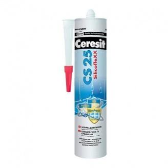 Силиконовый герметик Ceresit CS25 MicroProtect 280 мл кремовый