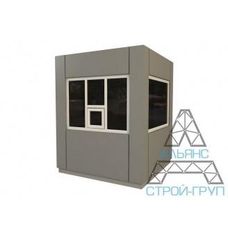 Пост охорони 09 базової комплектації 1500х1500х2700 мм