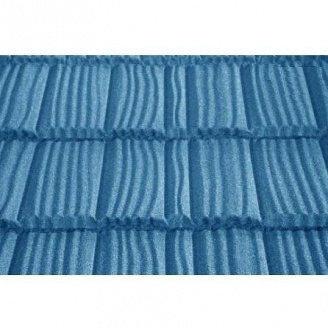 Композитная черепица Metrotile Metrowood 1325*410 мм blue
