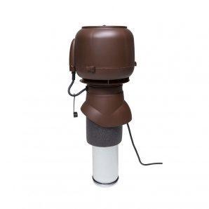 Вентилятор VILPE E120 P 125х400 мм коричневый