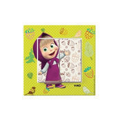 Выключатель двухклавишный VIKO KARRE Kids Маша летом (90962747)