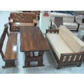 Стол деревянный для ресторана 2000х800х770 мм тик