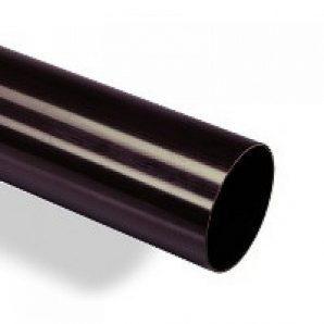 Водостічна труба Wavin Kanion 75х2000 мм чорна