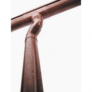 Водостічна труба Wavin Kanion 50х2000 мм коричнева