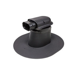Проходной элемент VILPE SOLAR HUOPA высокий 300 мм черный