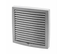 Наружная вентиляционная решетка Vilpe 150*150 мм светло-серая