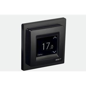 Терморегулятор с сенсорным дисплеем DEVI DEVIreg Touch черный
