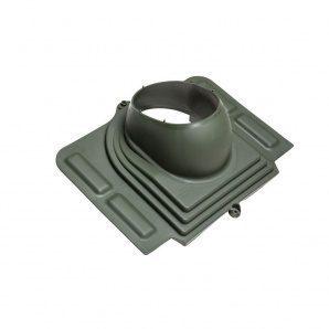 Прохідний елемент VILPE PELTI для труб діаметр 110-160 мм під металочерепицю зелений