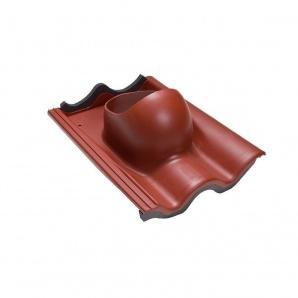 Прохідний елемент VILPE TIILI 440х330 мм червоний