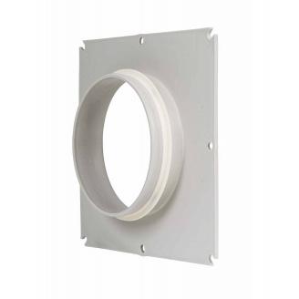 Фланец вентиляционной решетки Vilpe 100 мм светло-серый