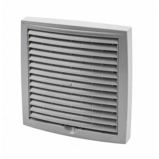Наружная вентиляционная решетка Vilpe 240*240 мм светло-серая