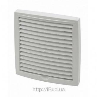 Наружная вентиляционная решетка Vilpe 240*240 мм белая