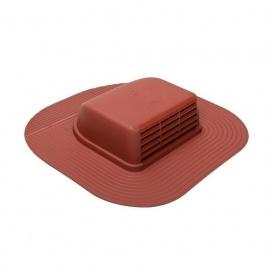 Кровельный вентиль VILPE HUOPA-KTV/HARJA 429х439 мм красный